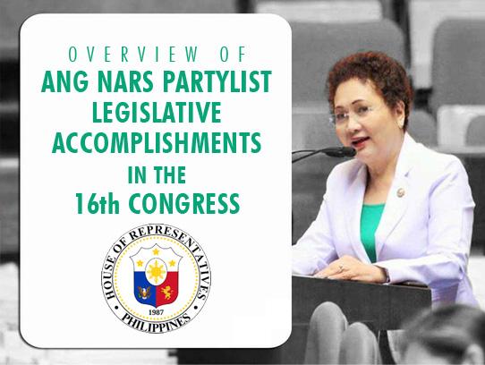 ANG NARS Legislative Accomplishments – Ang NARS Inc